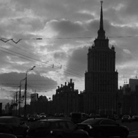 Impressive Staling buildings in Moscow